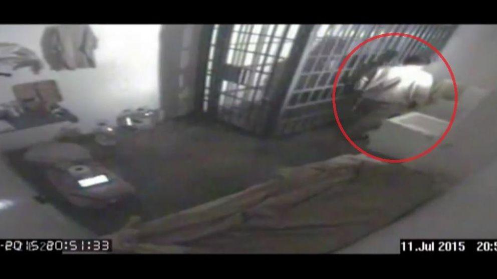 Publican el vídeo del momento exacto en que 'El Chapo' se fuga de la cárcel