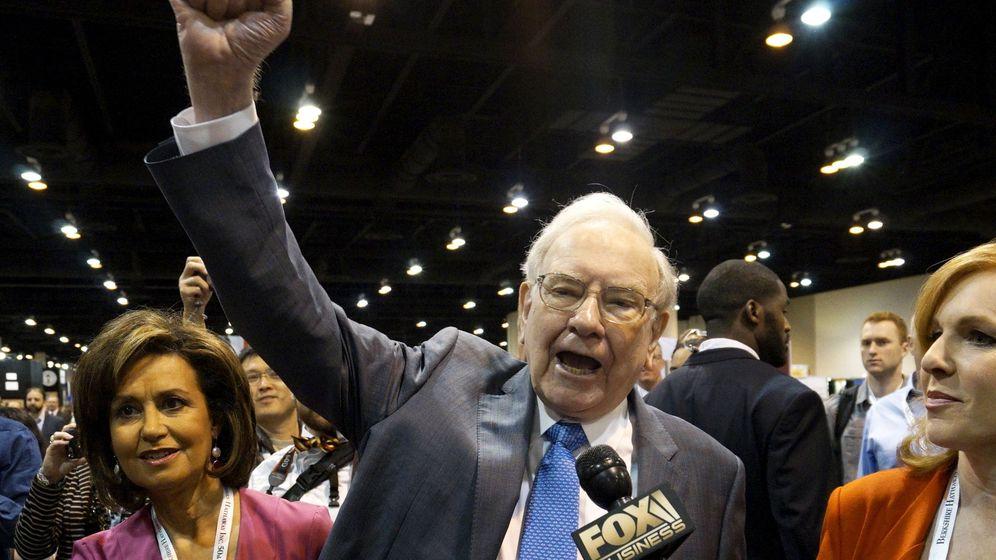 Foto: Warren Buffett en la convención anual de su fondo que se ha celebrado este fin de semana en Omaha (Reuters)