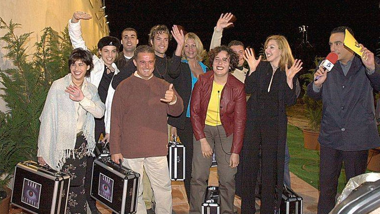 Algunos de los participantes de la primera edición de 'Gran Hermano'. (Telecinco)