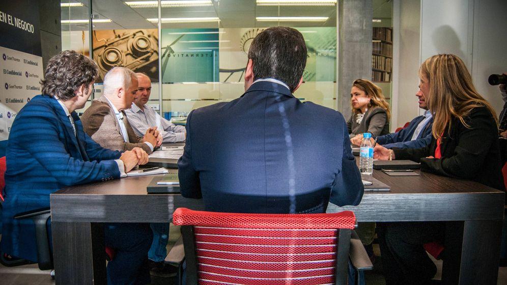Foto: Mesa redonda organizada por Grant Thornton y El Confidencial. (Foto: Carmen Castellón)