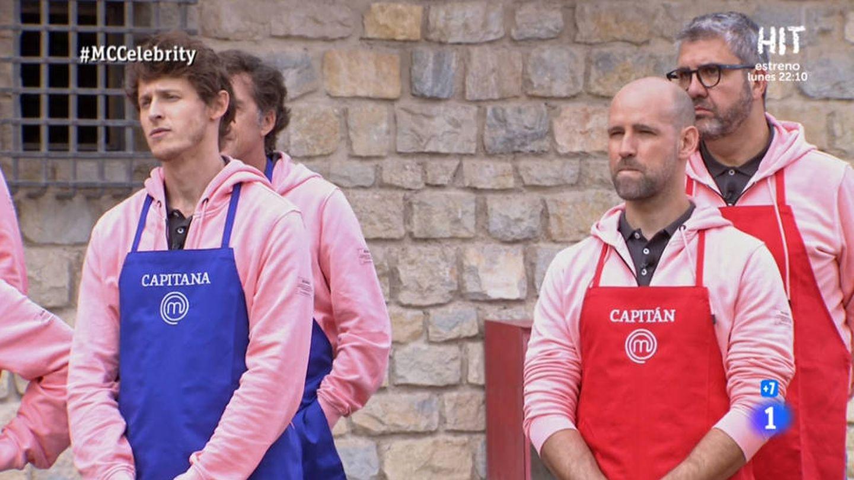 Nicolás y Gonzalo, capitanes de la prueba de exteriores. (TVE)
