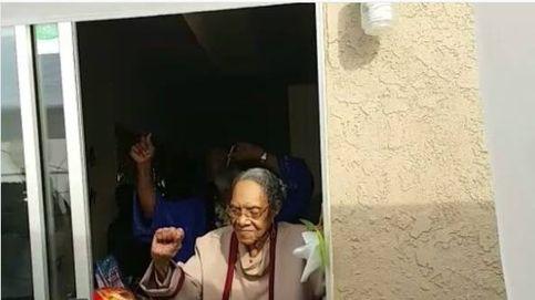 ¡Así sí! Esta mujer celebra sus 100 años de la mejor forma