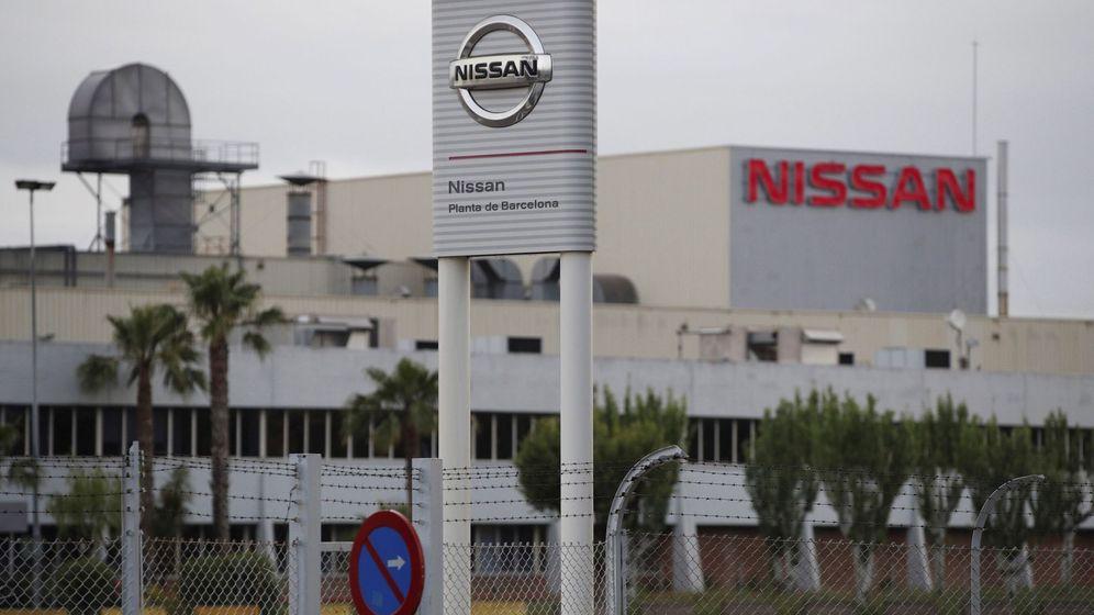 Foto: Planta de Nissan en Barcelona (EFE)