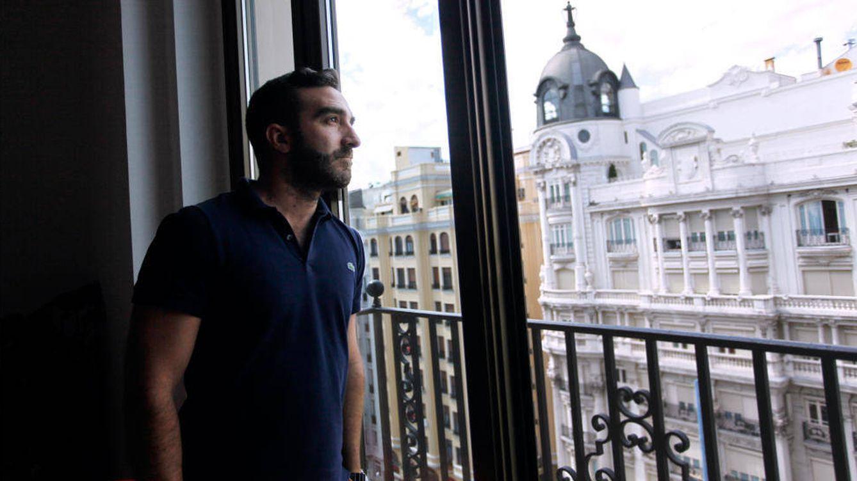 Foto: Francisco Polo, nuevo miembro de la ejecutiva de Pedro Sánchez, en la sede de Change.org. (Kike Villarino)