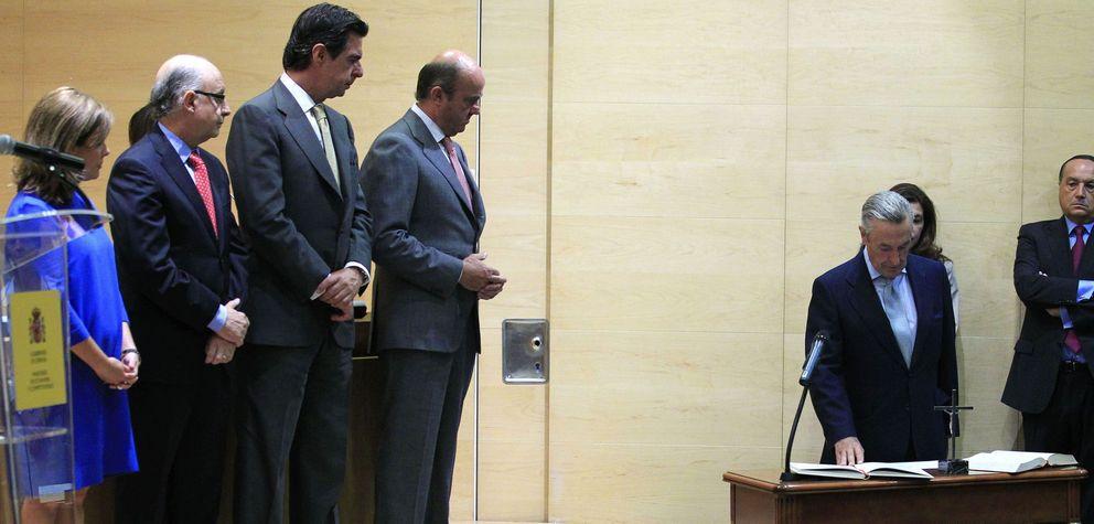 Toma de posesión del presidente de la CNMC, José María Marín Quemada. (EFE)