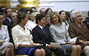 La infanta Cristina vuelve a la 'agenda real'