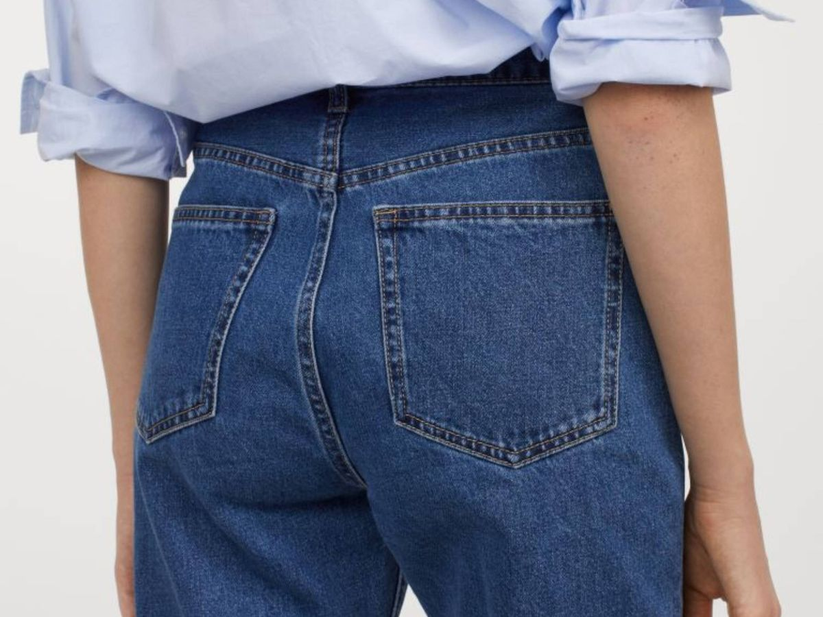 Foto: El pantalón vaquero de HyM. (Cortesía)