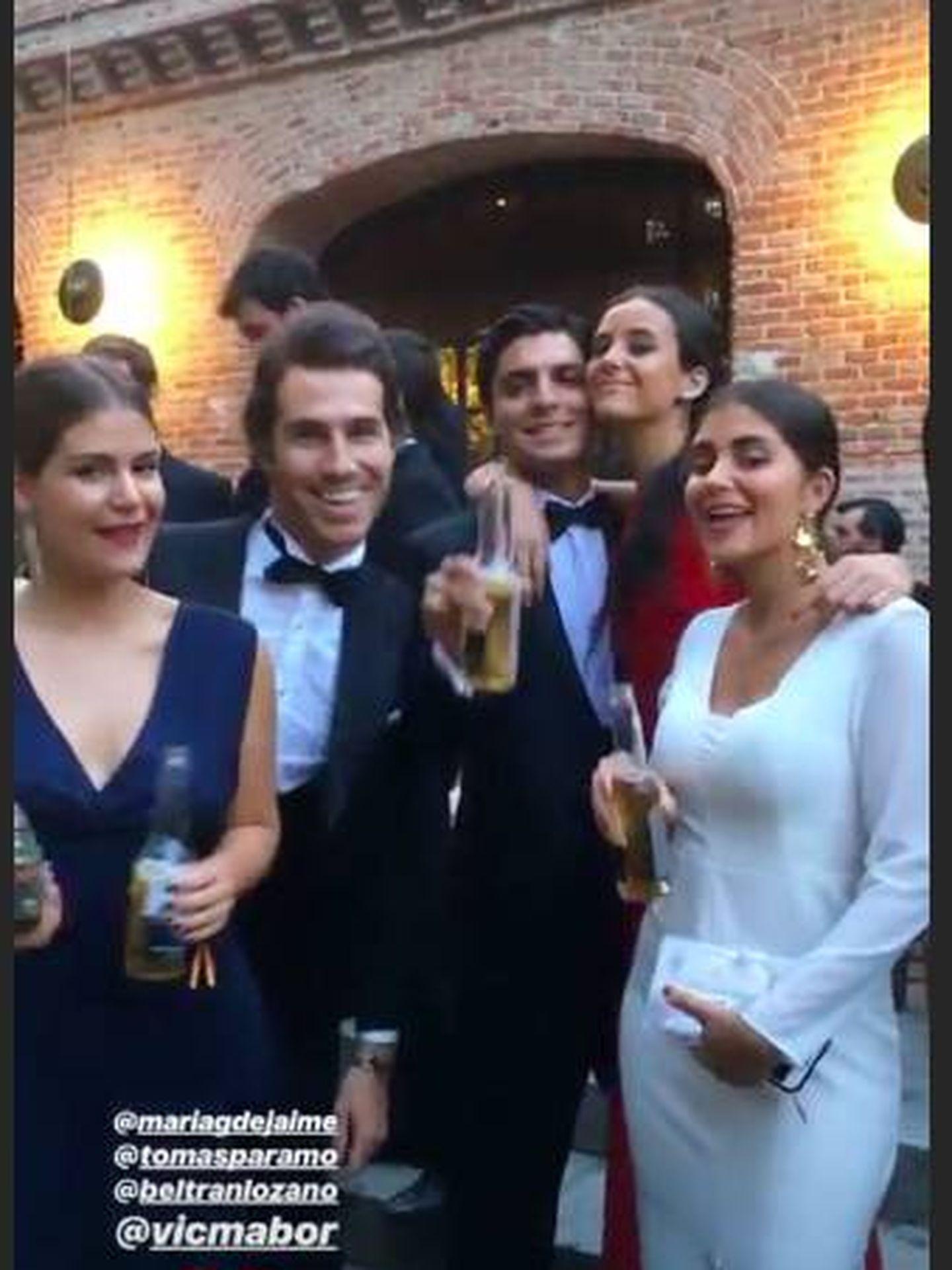 Victoria Federica y sus amigos.  (Instagram)