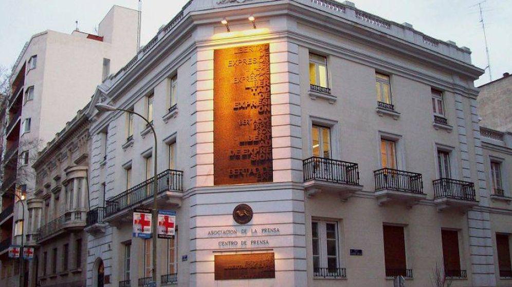 Foto: Sede de la Asociación de la Prensa de Madrid (APM).