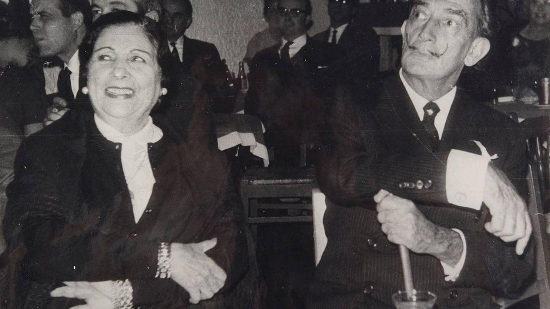 Pastora Imperio, junto a Dalí. (Cortesía Rafa Dona)