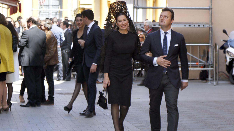 Foto: Raquel Revuelta y el Tato en Semana Santa (Gtres)