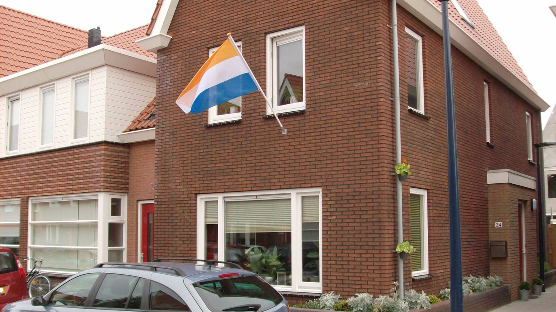 Bandera original holandesa. (Creative Commons)