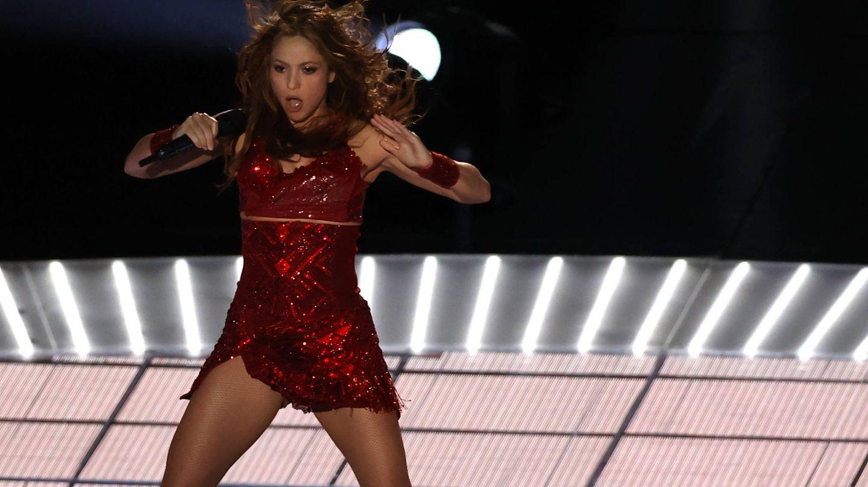 Shakira, en la Super Bowl. (Cordon Press)