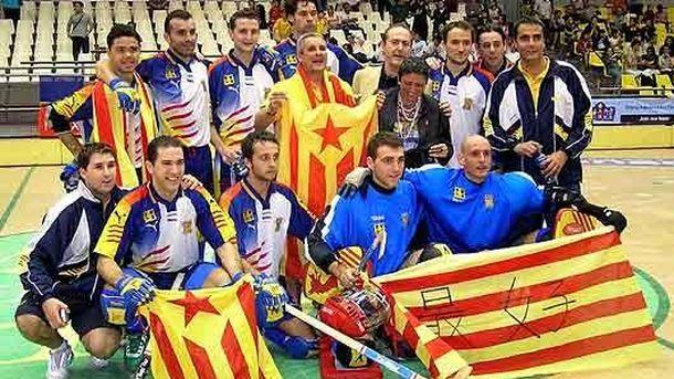 Foto: La selección catalana de hockey patines