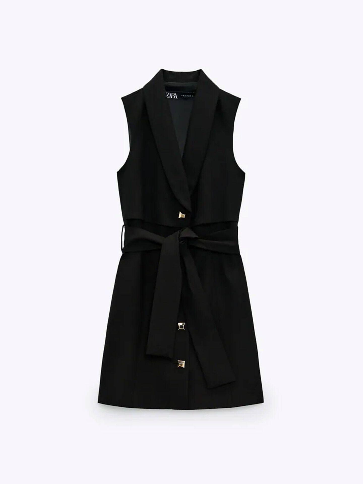 Vestido de Zara perfecto a cualquier edad. (Cortesía)