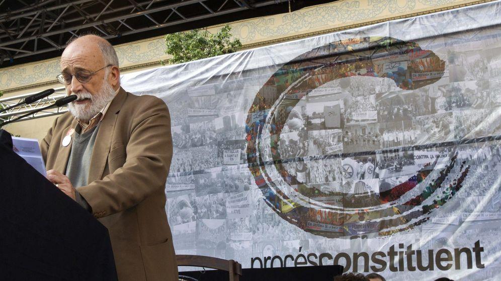 Foto: El economista e impulsor de Procés Constituent, Arcadi Oliveres. (EFE)