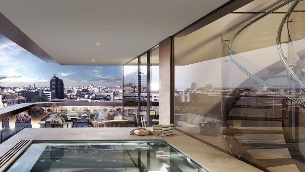 ¿Cuántos m2 de lujo puedes comprar con 1 millón de euros en España?