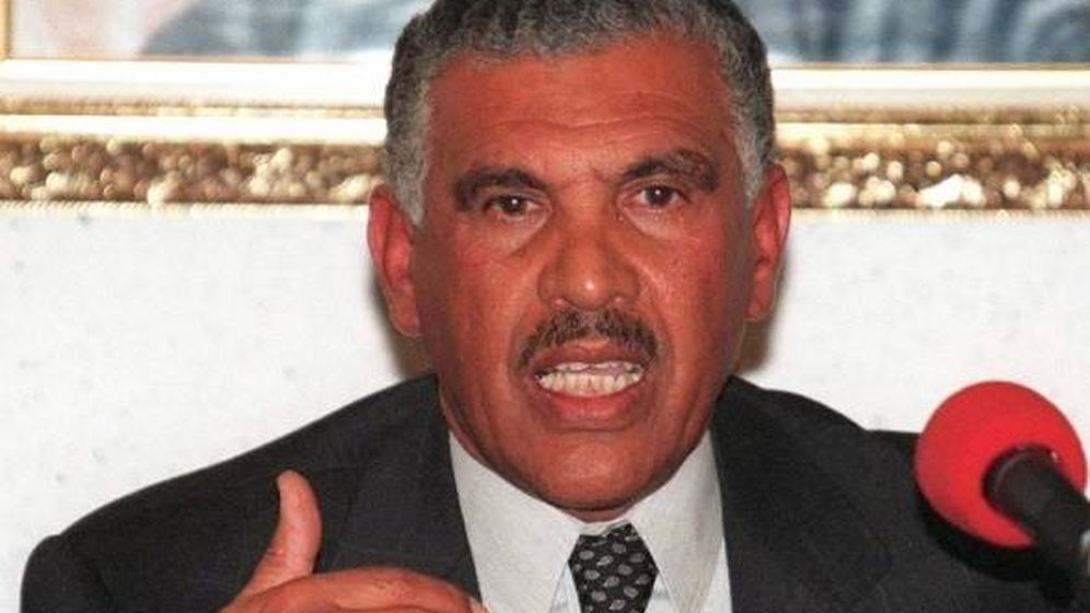 Foto: Mohamed Mediouri, marido de la madre de Mohamed VI.