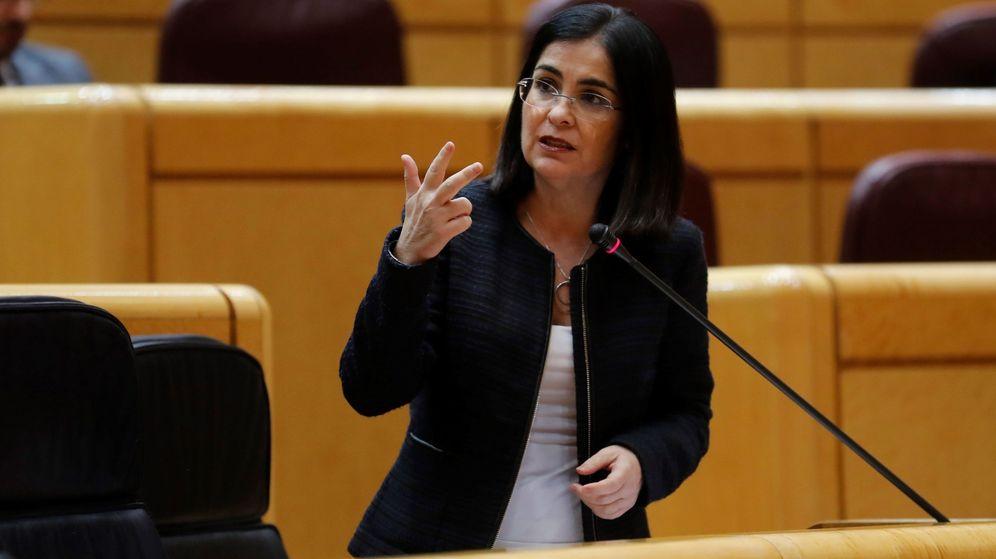 Foto: Carolina Darias, ministra de Política Territorial y Función Pública. (EFE)