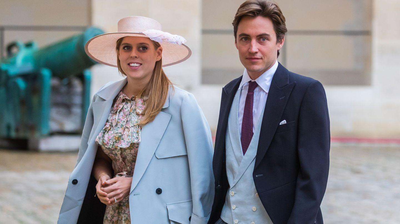 La princesa Beatriz de York y Edo Mapelli.  (EFE)