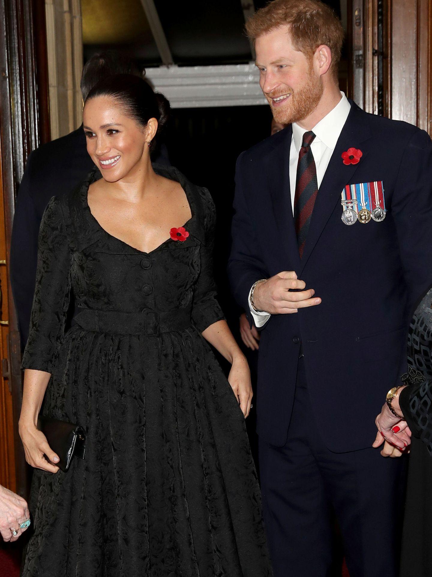 Los duques de Sussex, en su última aparición pública conjunta. (Reuters)