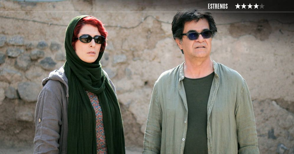 Foto: Behnaz Jafari y el director, guionista y actor Jafar Panahi, en 'Tres Caras'. (Golem)