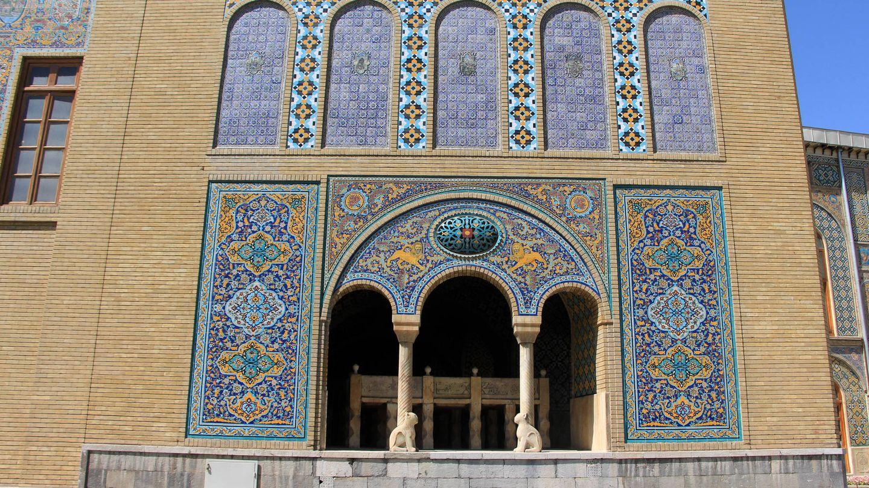 Palacio de Golestán.