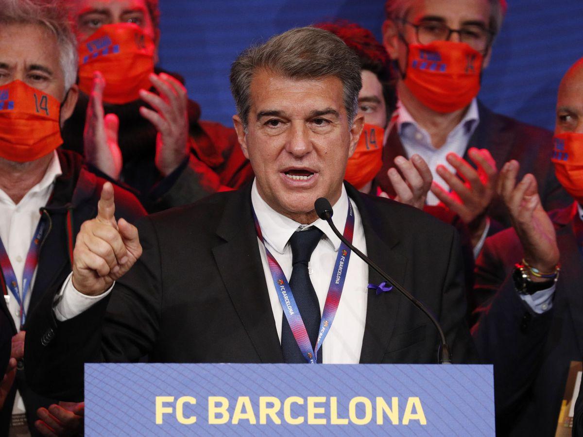 Joan Laporta pide a Javier Botín y a Sabadell un aval de 125 M para ser  presidente del Barça
