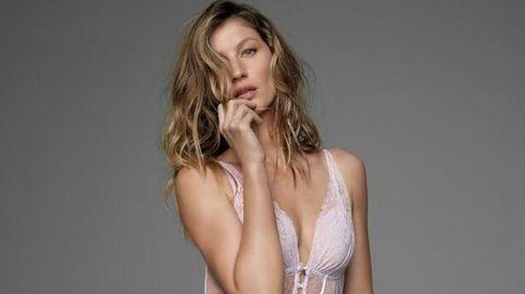 Gisele Bündchen, muy sexy en su propia lencería