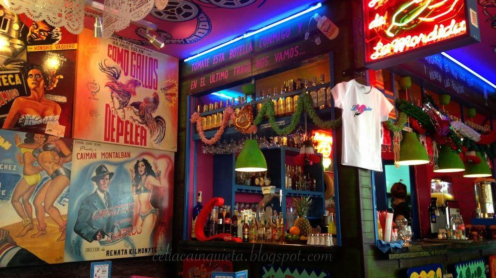 Foto: La Mordida, restaurante propiedad de Joaquín Sabina.