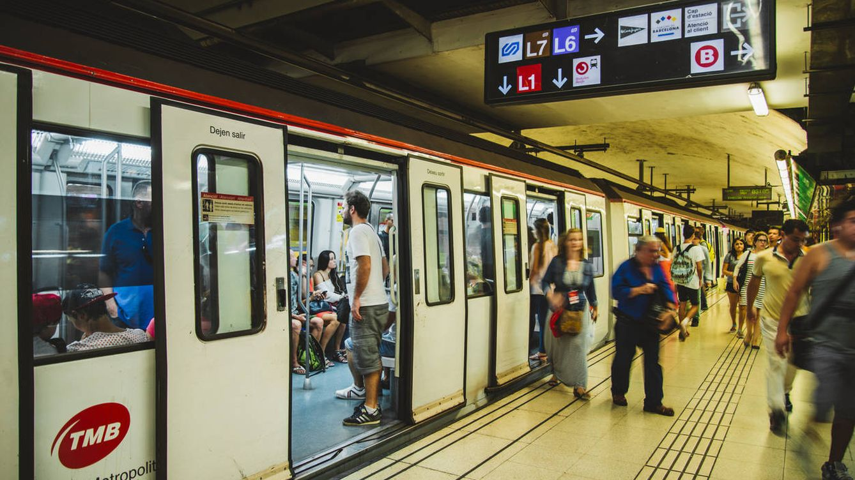 Así es el aire que respiras cuando vas en metro: qué nos enseña el caso de Barcelona