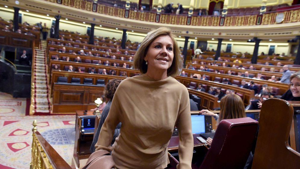 Foto: La exsecretaria general del PP María Dolores de Cospedal. (EFE)