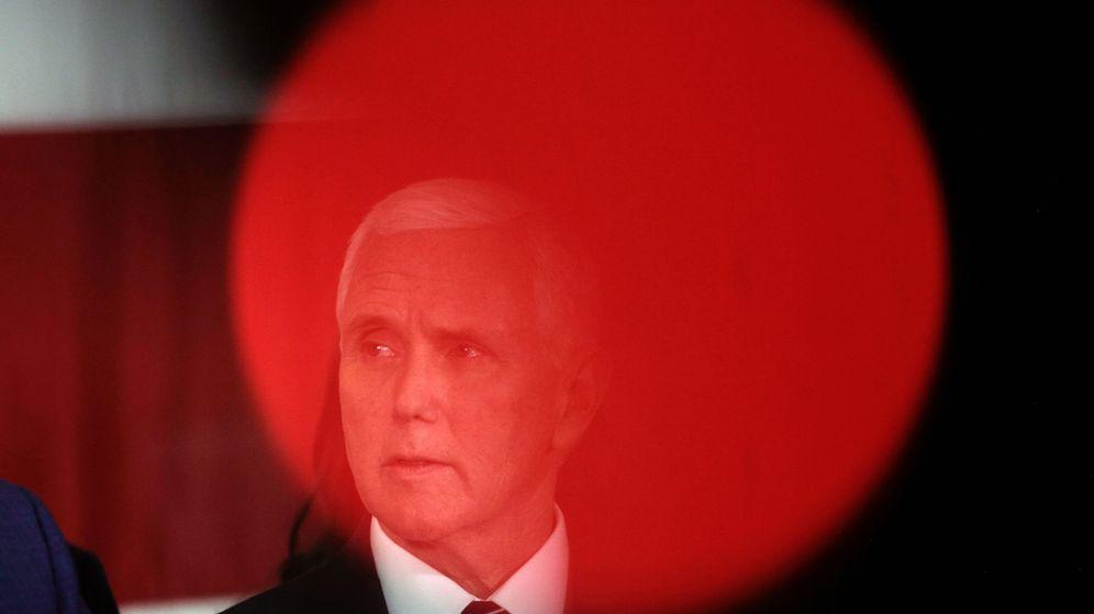 Foto: El vicepresidente de EEUU, Mike Pence. (Reuters)