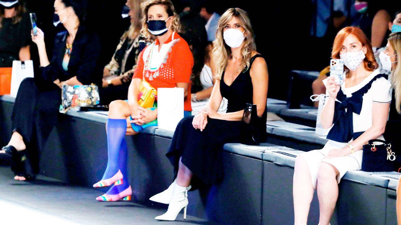 Begoña Gómez, en la Fashion Week Madrid. (EFE)
