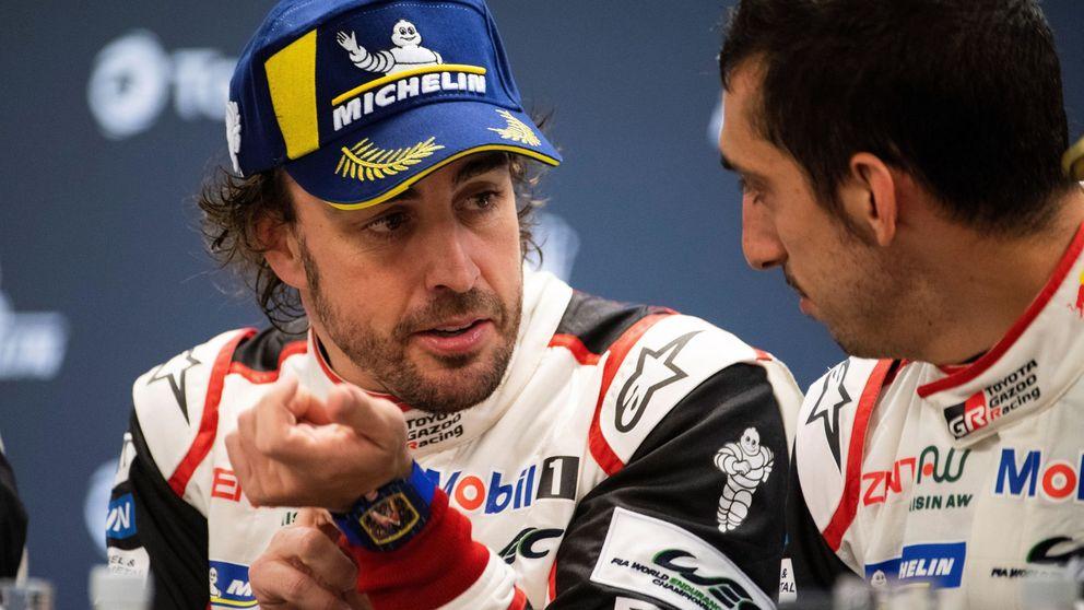 No está mal para un debutante, Alonso y la felicitación especial en la radio de Spa