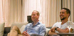 Post de El príncipe William y Hussein de Jordania, dos herederos viendo el Mundial