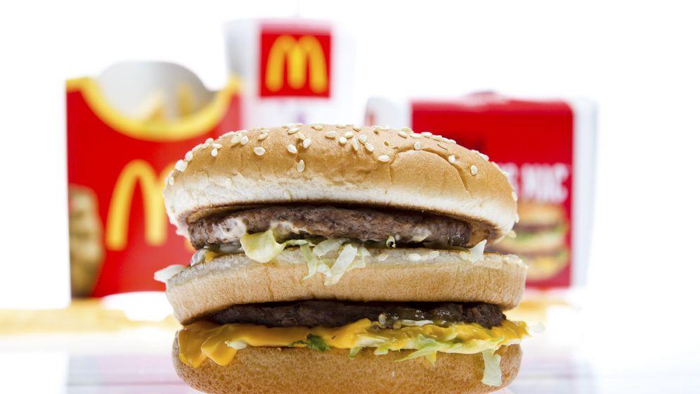 Foto: Hamburguesa Big Mac que se usa como referencia de consumo en diferentes divisas