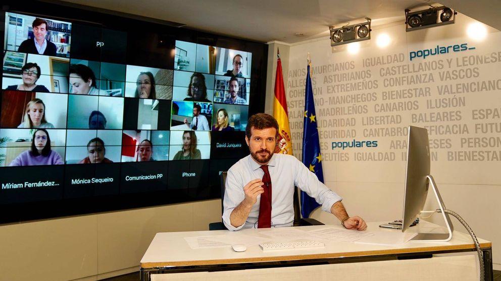 Apoyo crítico de Casado a Sánchez: sí a la prórroga, pero asistencia ya a las CCAA