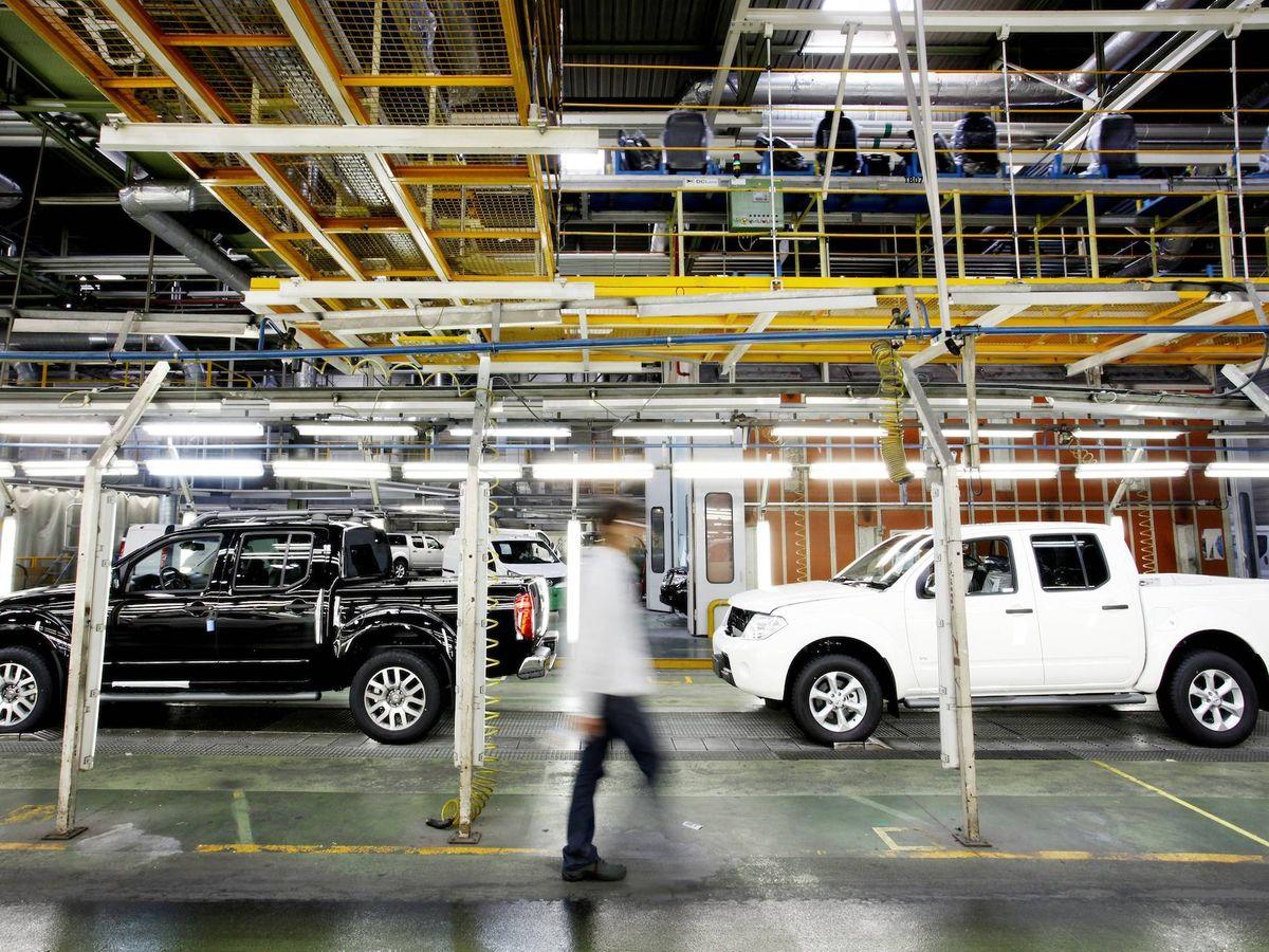 Foto: La fábrica de Nissan en la de Zona Franca.