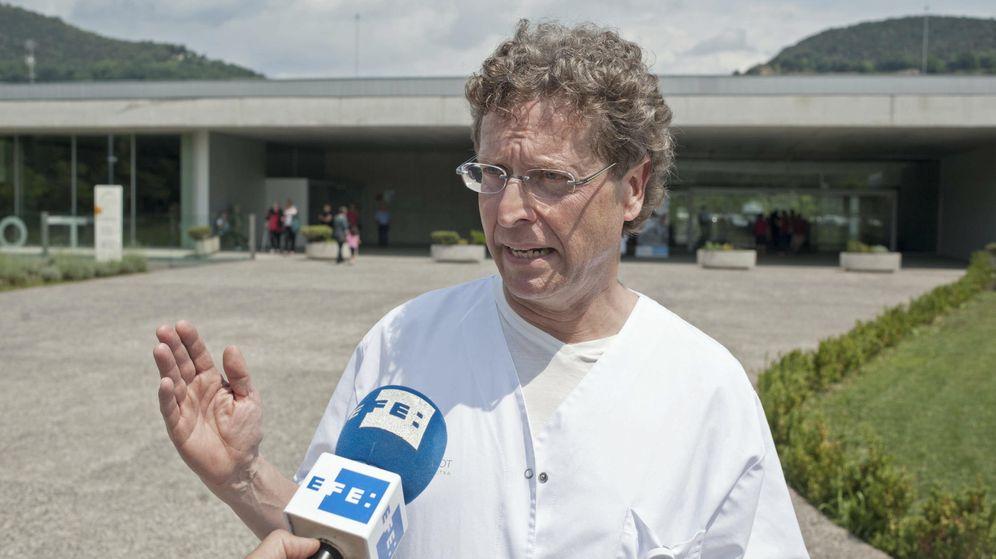 Foto: El médico alemán que diagnosticó el caso de difteria del menor de Olot, el doctor Stephan Scheneider. (EFE)