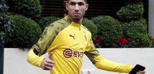 Post de Cuando el Real Madrid cocina el bombazo de Achraf (y en el Barça malvenden a Cucurella)