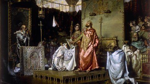 Los escritores explican la historia de España a través de los cuadros del Senado