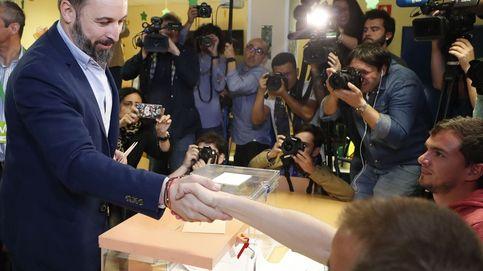 Abascal pide respeto al resultado de gente que votan con esperanza y sin miedo