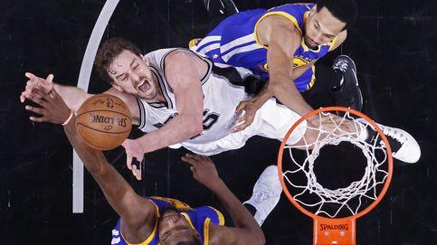 Los Warriors barren a los Spurs de Gasol