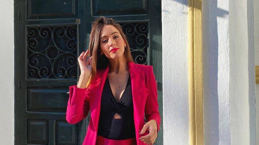 Rocío Osorno deslumbra con un vestido de Zara en la etapa final de su embarazo