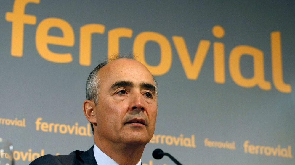 Foto: Rafael del Pino, presidente de Ferrovial. (EFE)
