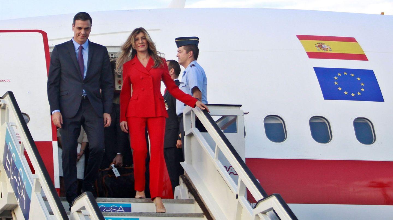 Begoña a su llegada a La Habana. (EFE)