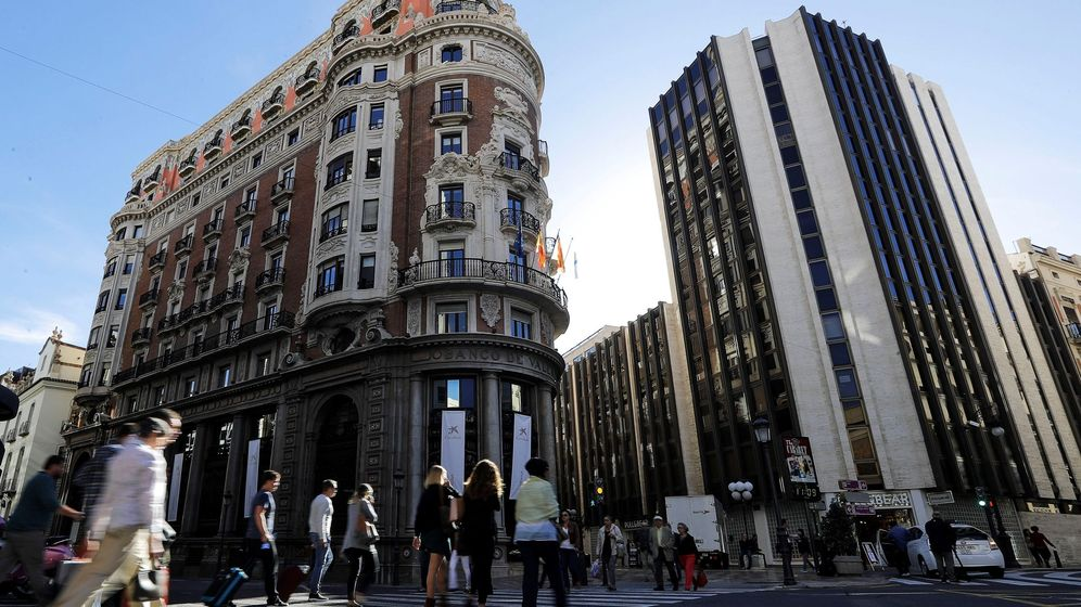 Foto: La nueva sede de Caixabank en Valencia