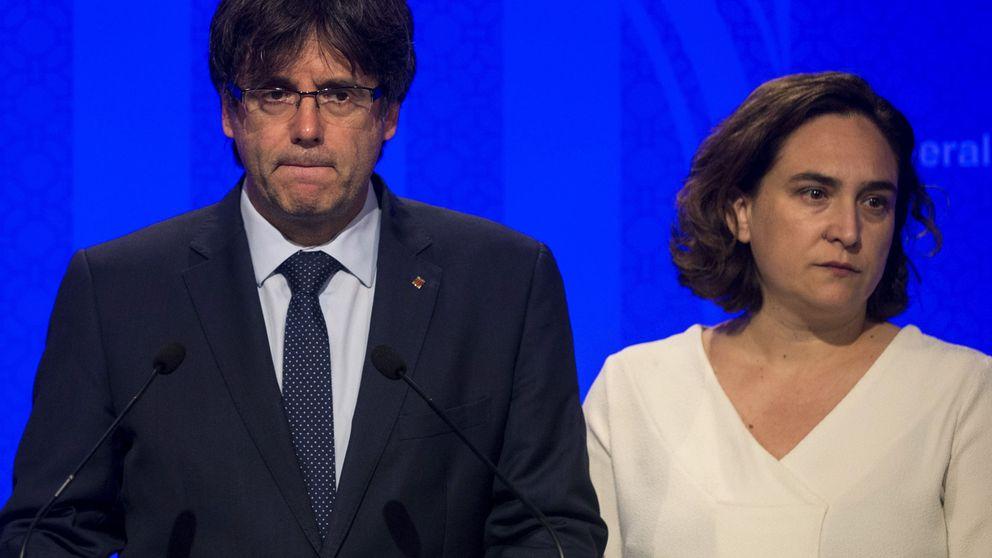 Colau pide a Rajoy que permita el 1-O: No se puede responder con represión
