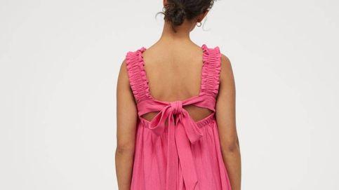 Verano es este vestido largo, amplio y con una espalda de ensueño de H&M